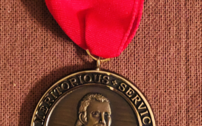 The Ezra Ames Meritorious Service Award