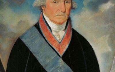 Masonic Portrait of Brother General George Washington